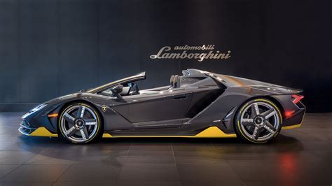 Lamborghini Centenario Roadster Arrives In Beverly Hills