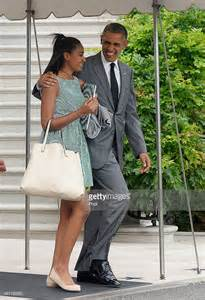 President Barack Obama Daughters Sasha