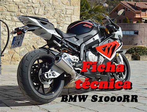 Bmw S1000rr Ficha TÉcnica Ficha Técnica Completa Y Precio