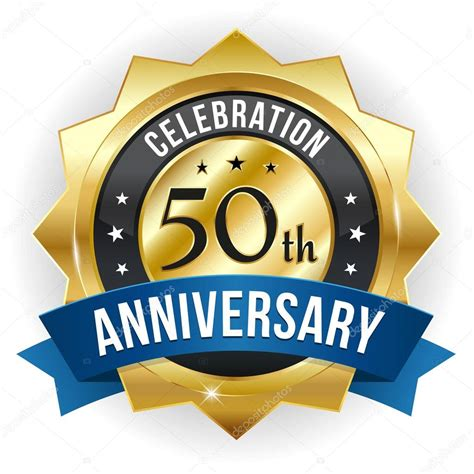 50 year anniversary 50 year anniversary button stock vector 169 newartgraphics 33853565