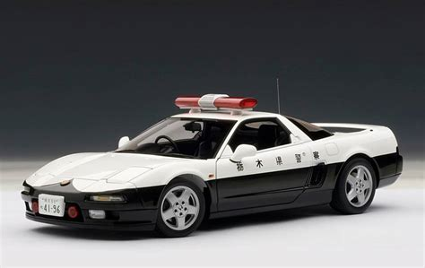 1 18 police car with autoart honda nsx 1990 japanese police car 73274 in 1