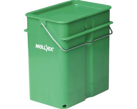 poubelle cuisine récipient à compost müllex terra 5 acheter sur hornbach ch