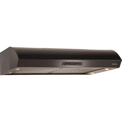 broan cabinet range 36 broan 36 inch 300 cfm cabinet range black