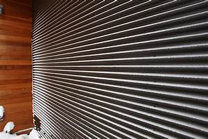 materials corrugated metal lucid architecture With corrugated steel siding cost