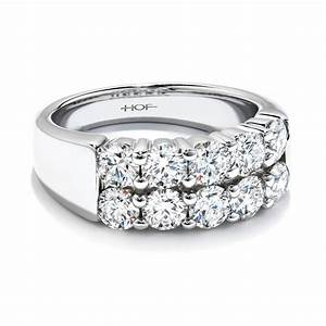 A diamond anniversary rings is the best gift that you can for Wedding anniversary rings diamonds