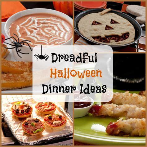 dinner cooking ideas 8 dreadful halloween dinner ideas mrfood com