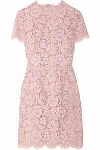 Lily Aldridge Style & Dress: VALENTINO Cotton-Blend Lace ...