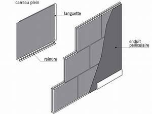 epaisseur carreau de platre wehomezcom With epaisseur carreau de platre