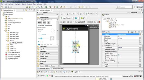 layouts for android working with layouts android programming
