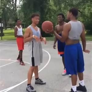 """Watch Jgotthejuice's Vine """"When gay niggas ATTEMPT to hoop ..."""