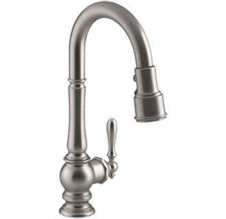 view the kohler k 99261 artifacts pullout spray high arch