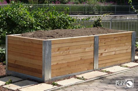 Hochbeete Aus Holz by Hochbeet Holz Oder Kunststoff Denvirdev Info