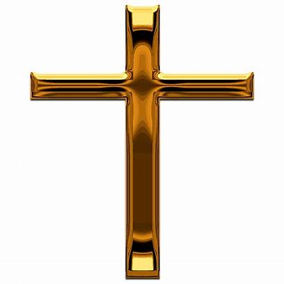 Cross Christian Jesus God Christ Crosses Gold