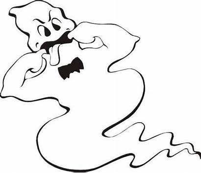 Ghost Coloring Pages Printable Ghosts Halloween Cartoon
