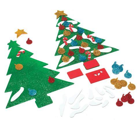 foam christmas tree craft
