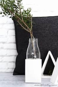 Bastel Beton Baumarkt : glasvase mit gips sockel selber machen ~ Michelbontemps.com Haus und Dekorationen