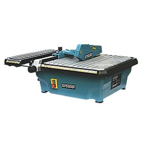 tile saw screwfix erbauer erb337tcb 750w tile cutter 230v tile saws