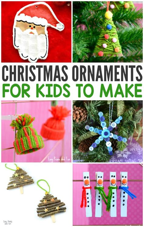 christmas decorations for kids to draw jolly diy ornaments ideas memories for easy peasy and