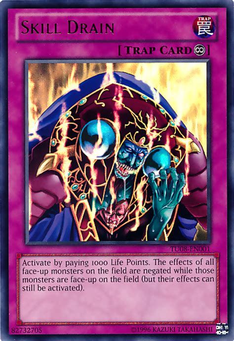 Skill Drain Deck 2010 by Skill Drain Yu Gi Oh It S Time To Duel