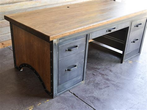 Chairmans Desk By Vintage Industrial  Urban Icon. Desks For Dual Monitors. Dresser With Pull Out Desk. Boxes For Drawers. Kids Table Set. Kitchen Table Sets. Vastu For Office Desk Facing. Dual Monitor Sit Stand Desk Top Workstation. Drawer Rails