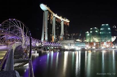 Bay Marina Sands Wallpapers Singapore Cool Resort