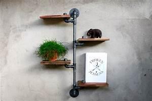 Regal Aus Rohren : shop loft steampunk regale aus rohren leuchtbuchstaben vinyluhren skitso lampen ~ Markanthonyermac.com Haus und Dekorationen