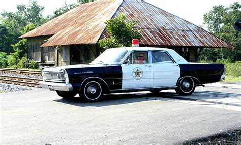 Police Car In Small Ga Town Photograph By Danny Jones
