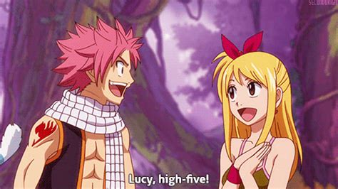 anime gif high five high five gif find on giphy