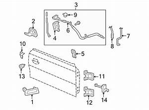 Ford Mustang Cable  Latch  Lock