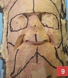 wood carving pyrography  craft step  step