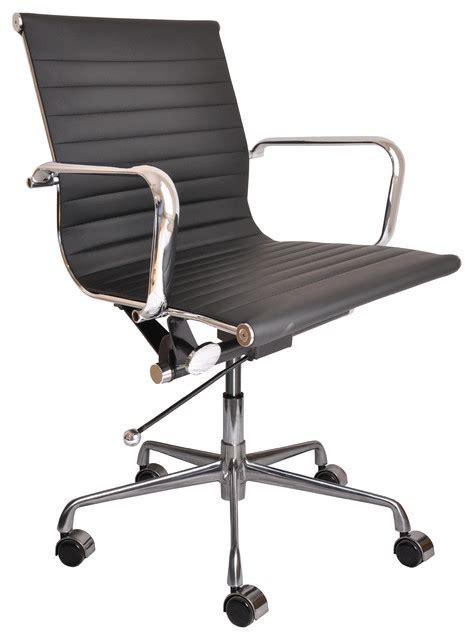 davidson soho ribbed management chair black