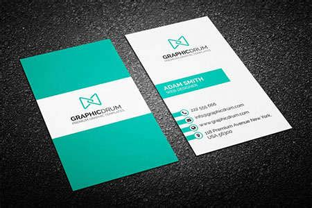 business card psd ginva