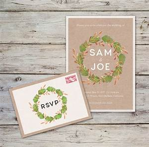 How to create a rustic wedding invitation in adobe for Wedding invitation template for indesign