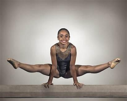 Gymnast Young Beam Balance Fear Anxiety Help