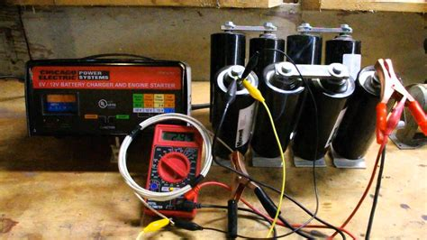 charge  supercapacitor youtube
