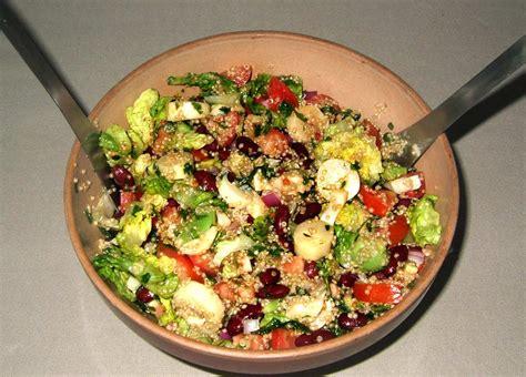 cuisine quinoa salade sud américaine au quinoa ma cuisine santé