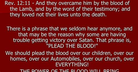 the blood of shed for you plead the blood means to make your based on the shed