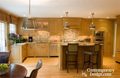 kitchens with light cabinets kitchens with light wood cabinets
