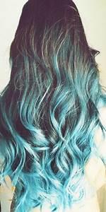 Blaue Haare Ombre : cabelo azul mexas styling lounge pinterest ombr haare ombre haare dunkelbraun und ~ Frokenaadalensverden.com Haus und Dekorationen