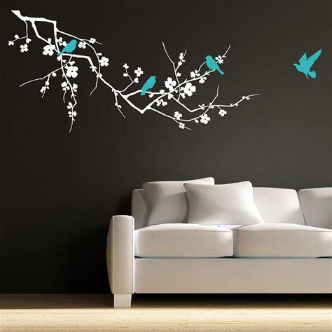 birds on branch wall stickers by parkins interiors notonthehighstreet com