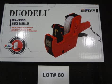 besta price duodeli mx 5500 besta ply price labeller great for the flea