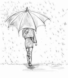 Kunst Bilder Zum Nachmalen : m dchen mit regenschirm zeichnen dekoking diy bastelideen dekoideen zeichnen lernen ~ Eleganceandgraceweddings.com Haus und Dekorationen