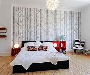 Schöne Bilder Fürs Schlafzimmer : sch ne schlafzimmer tapeten wohnideen einrichten ~ Indierocktalk.com Haus und Dekorationen