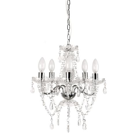 5 light crystal chandelier tadpoles 5 light chrome and white crystal chandelier