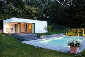 Gartengestaltung Mit Pool : moderne gartengestaltung mit gro em pool und extra ~ A.2002-acura-tl-radio.info Haus und Dekorationen