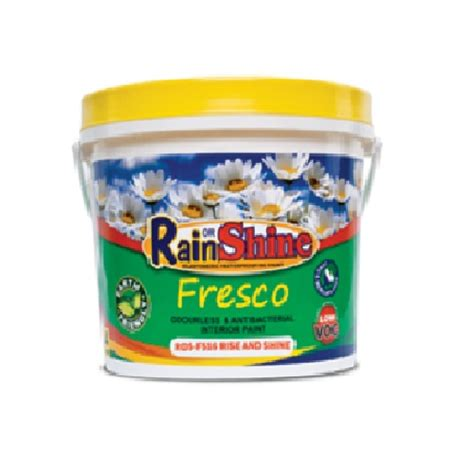 rain or shine odorless paints 4l silver rose hardware