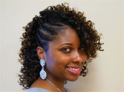 Twist With Curls Hairstyles by Flat Twist And Straw Set Thirstyroots Black Hairstyles