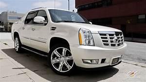 2015 Cars CEC Tuning Wheels Cadillac Escalade EXT White