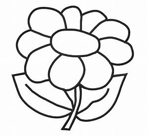 Flower Outline Drawing - ClipArt Best