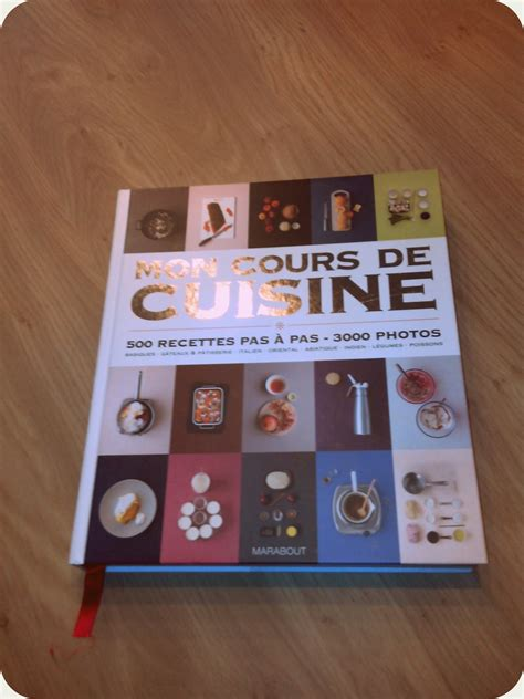 livre mon cours de cuisine mon cours de cuisine marabout maghily